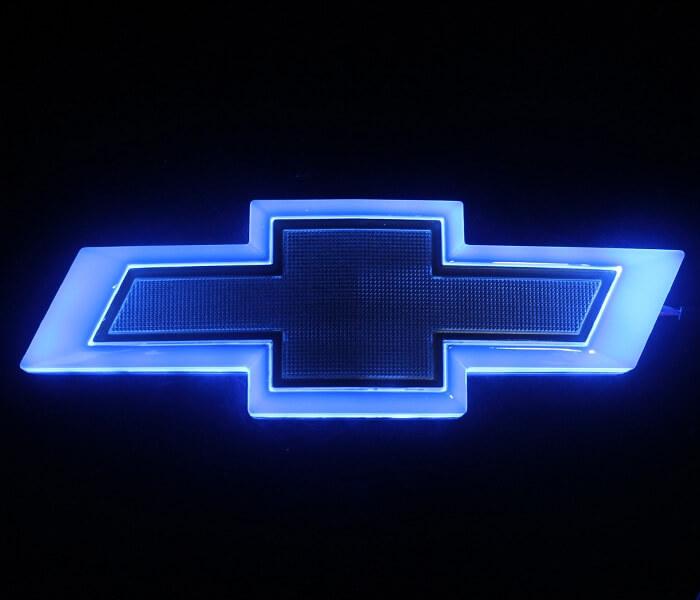 4D светящийся шильдик Chevrolet Cruze, фото 3