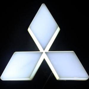 4D светящийся шильдик Mitsubishi