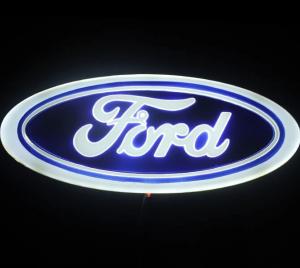 4D светящийся шильдик Ford