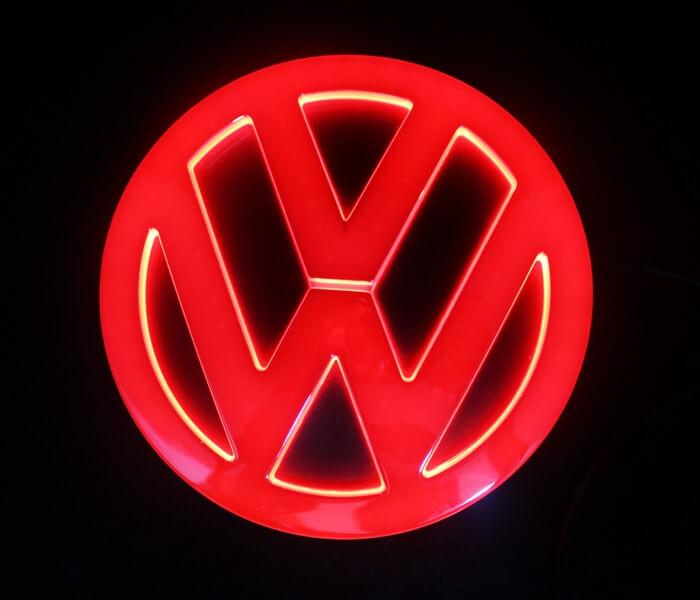 4D светящийся шильдик Volkswagen, фото 2