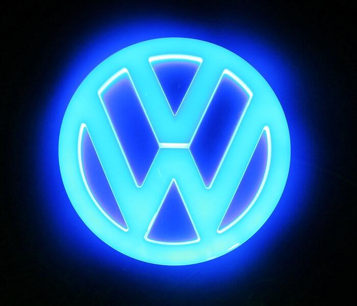 4D светящийся шильдик Volkswagen, фото 3