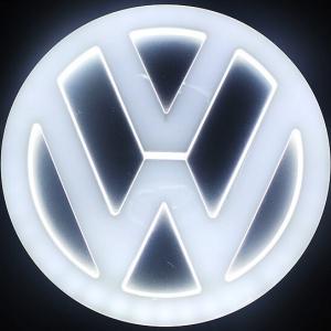 4D светящийся шильдик Volkswagen