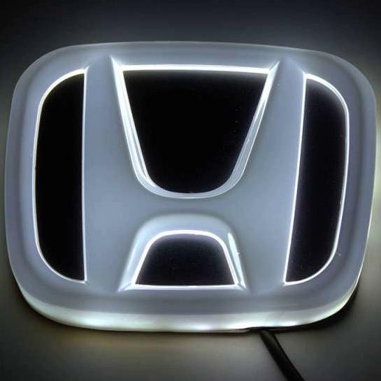 4D светящийся шильдик Honda