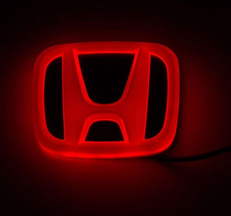 4D светящийся шильдик Honda, фото 2
