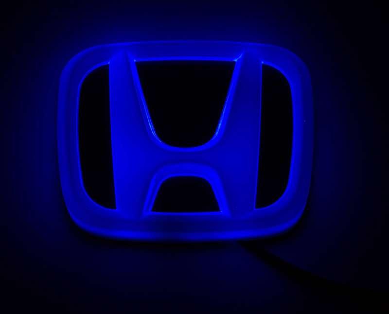4D светящийся шильдик Honda, фото 3