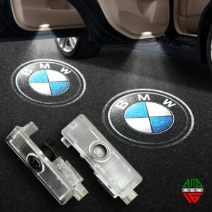 Штатная подсветка дверей BMW M5 (2011-2015)