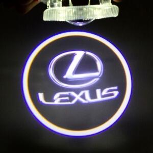 Штатная подсветка дверей Lexus ES (2006-2015)