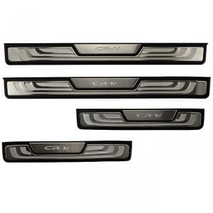 Накладки на пороги с подсветкой (под оригинал) Honda CR-V (2012-2015)