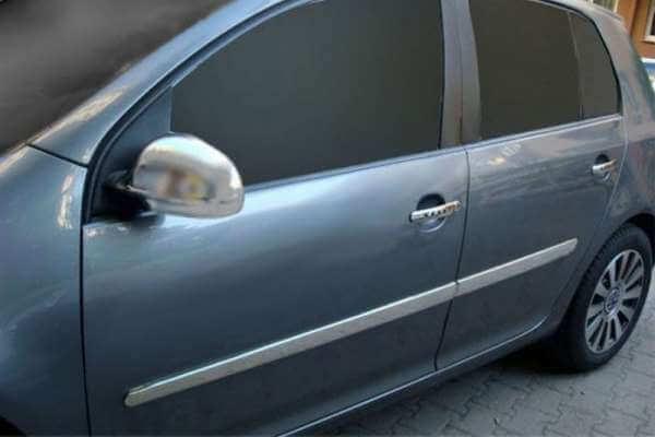 Хромированные накладки на ручки Volkswagen Golf 4