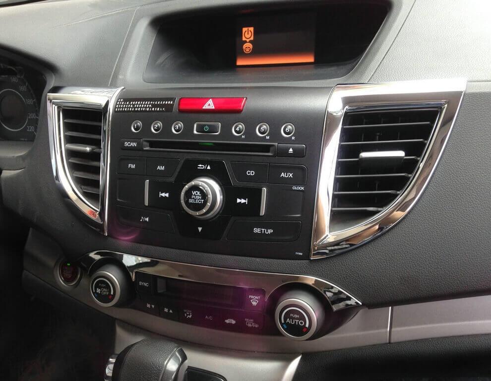 Хром накладки в салон Honda CRV (2012-2016), фото 7
