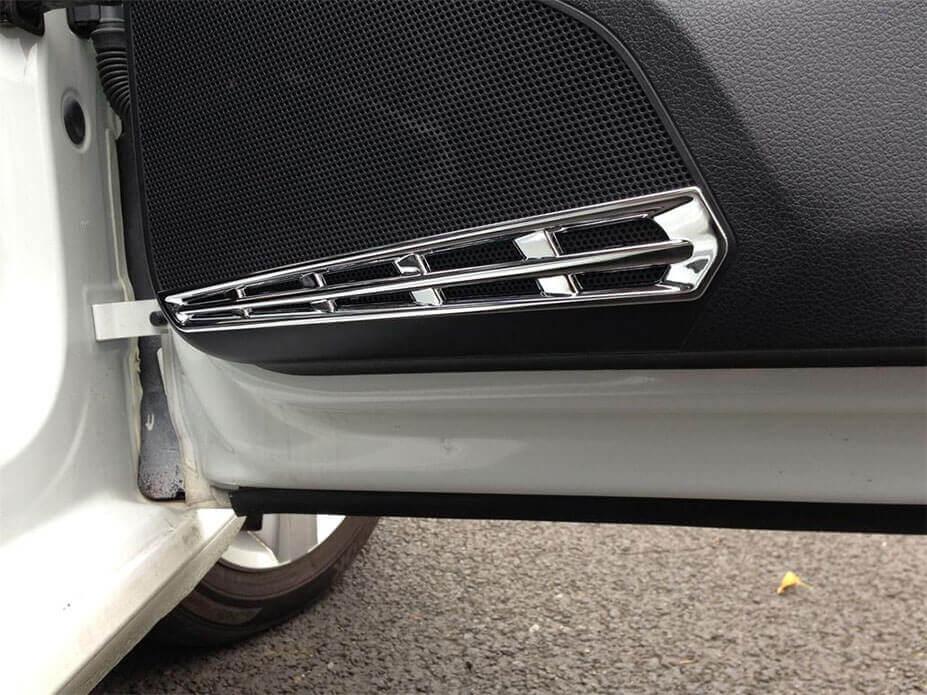 Хром накладки в салон Volkswagen Golf 7, фото 2