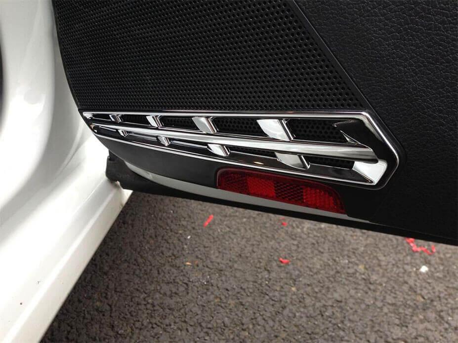 Хром накладки в салон Volkswagen Golf 7, фото 3