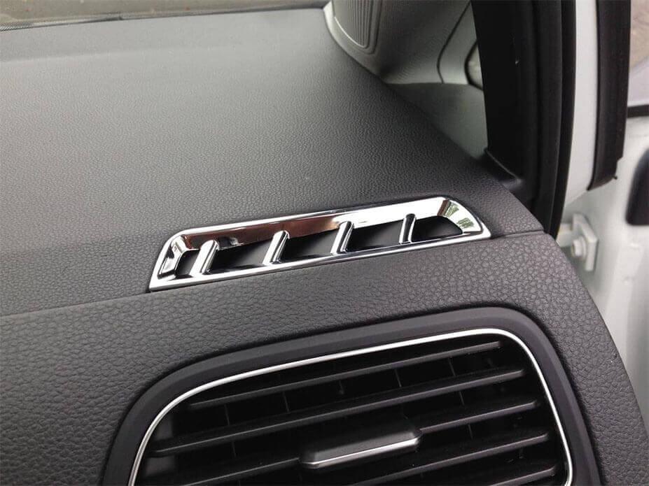 Хром накладки в салон Volkswagen Golf 7, фото 6