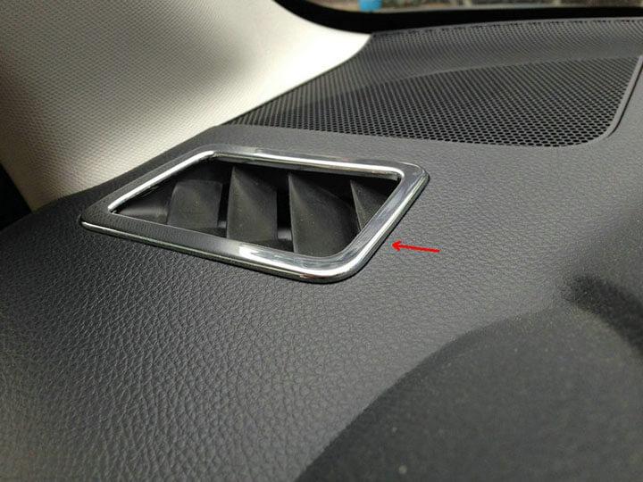 Хром накладки в салон Subaru Forester (2013-2015), фото 2