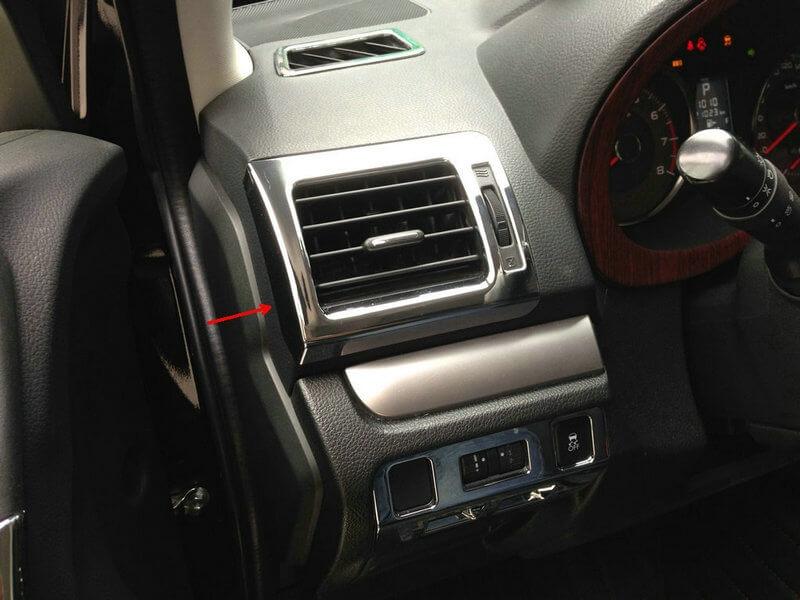 Хром накладки в салон Subaru Forester (2013-2015), фото 3