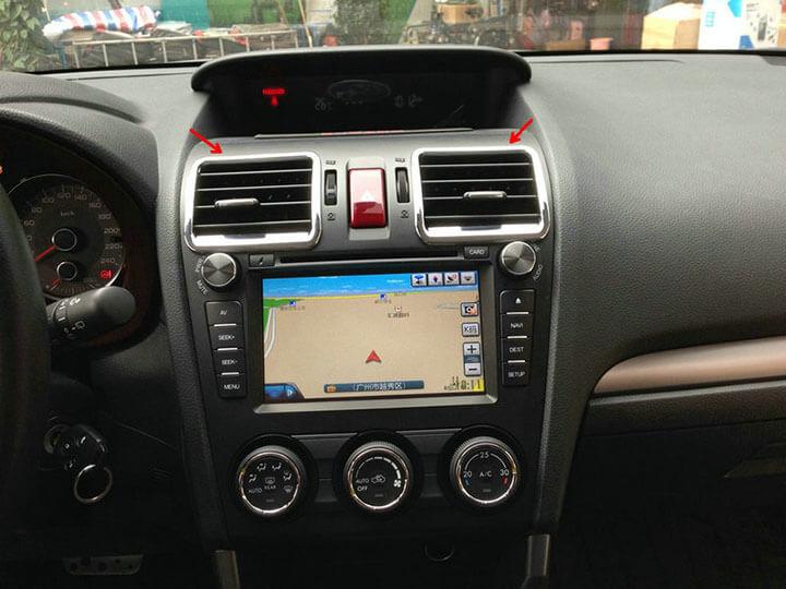 Хром накладки в салон Subaru Forester (2013-2015), фото 6