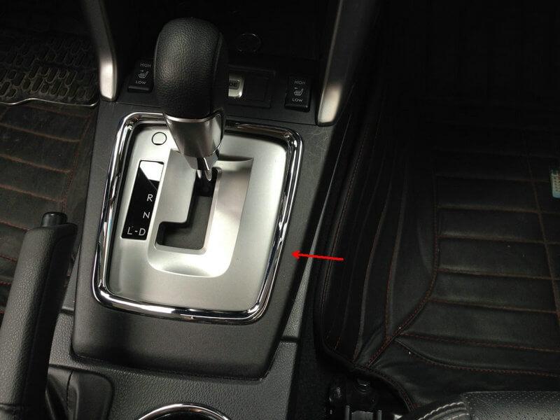 Хром накладки в салон Subaru Forester (2013-2015), фото 7