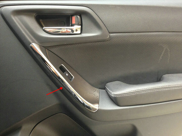 Хром накладки в салон Subaru Forester (2013-2015), фото 10