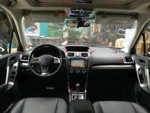 Хром накладки в салон Subaru Forester (2013-2015)