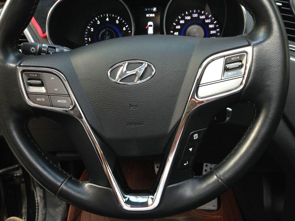 Хром накладки в салон Hyundai Santa Fe (2012-2015), фото 8