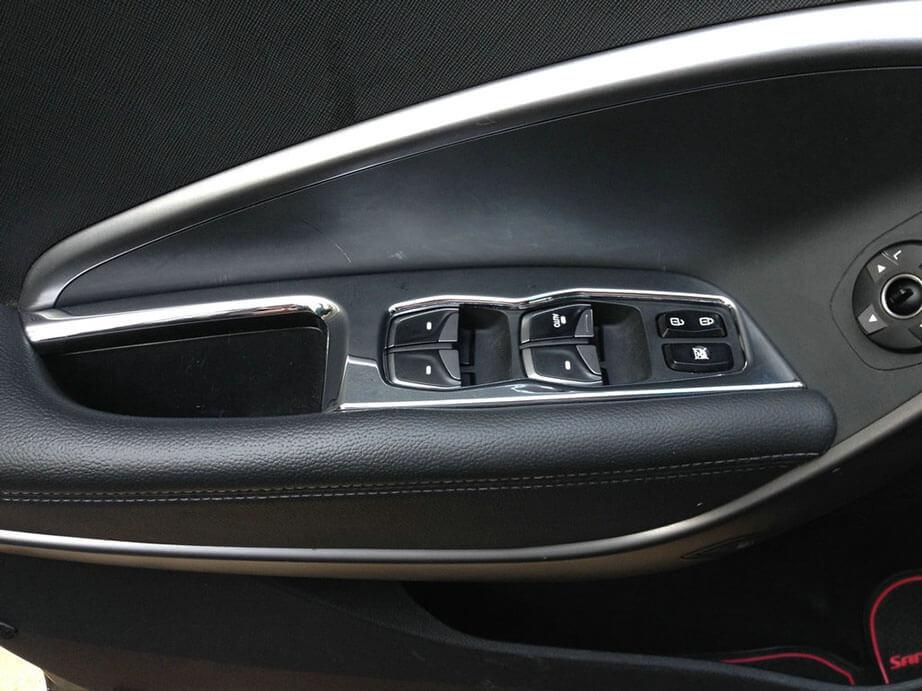 Хром накладки в салон Hyundai Santa Fe (2012-2015), фото 9