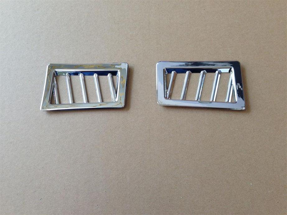 Хром накладки в салон Toyota Corolla E160, фото 2