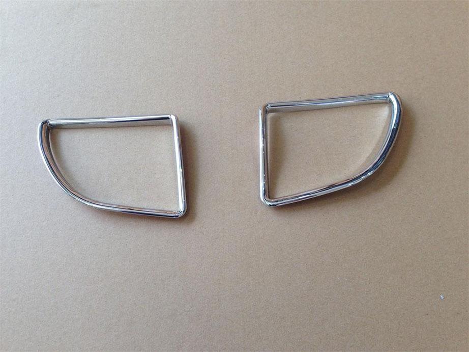 Хром накладки в салон Toyota Corolla E160, фото 9