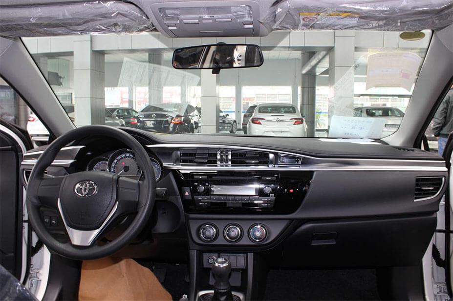 Хром накладки в салон Toyota Corolla E160, фото 13