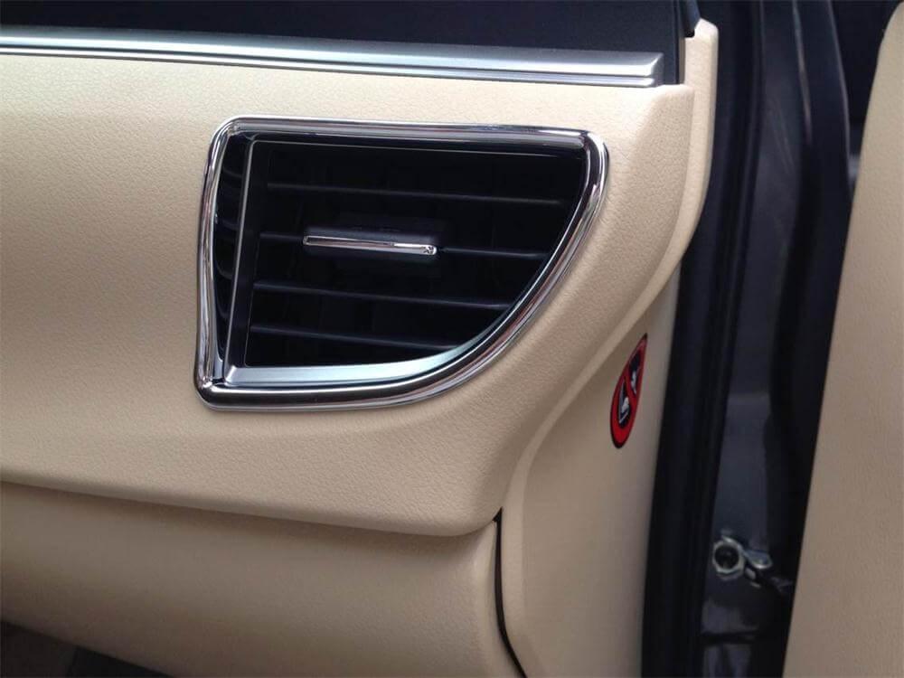 Хром накладки в салон Toyota Corolla E160, фото 15