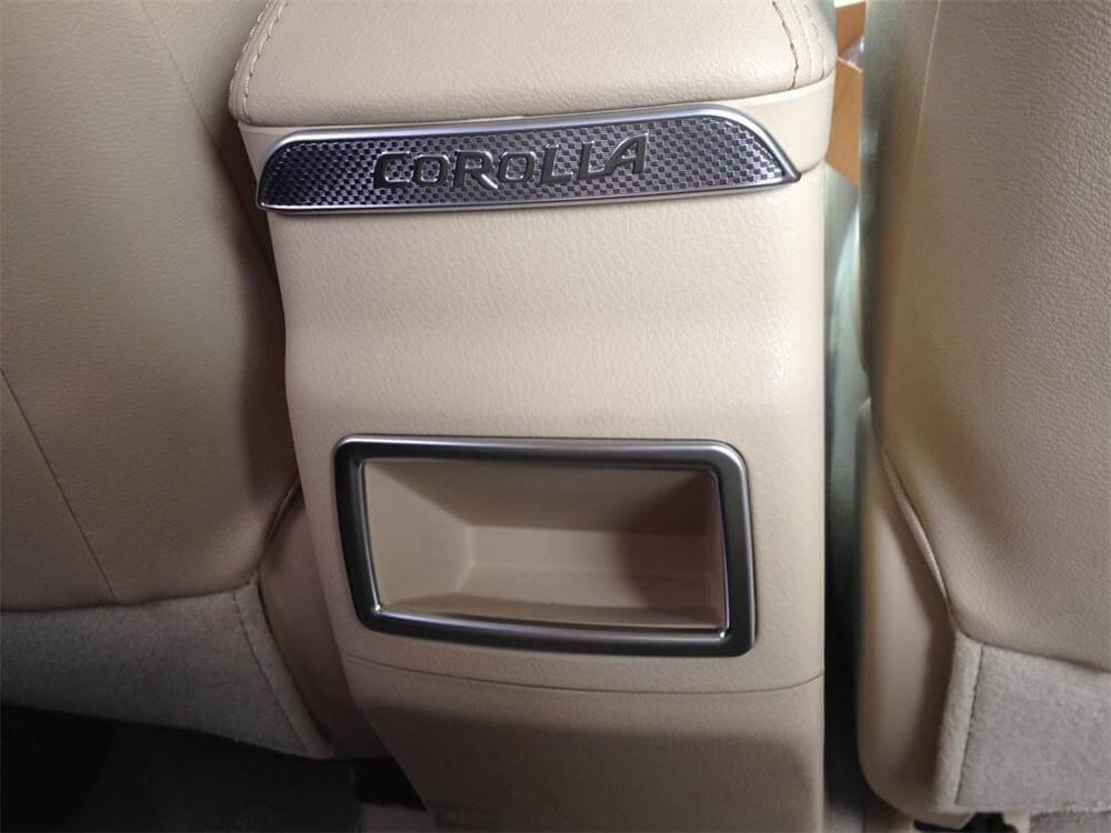 Хром накладки в салон Toyota Corolla E160, фото 18
