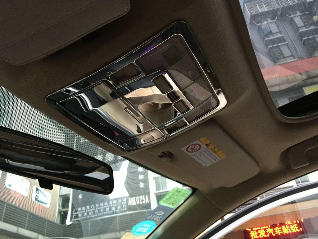 Хром накладки в салон Toyota Corolla E160, фото 19