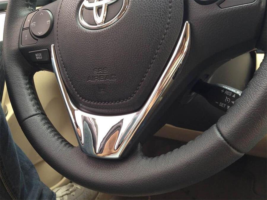 Хром накладки в салон Toyota Corolla E160, фото 22