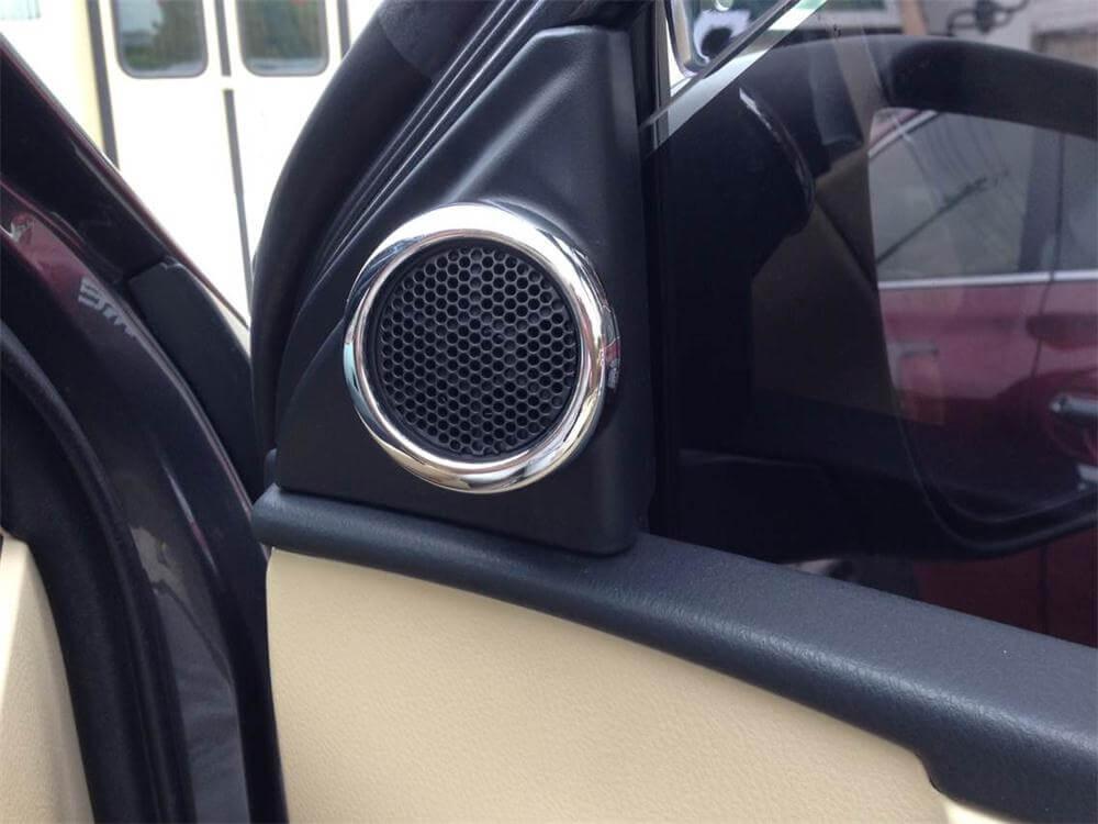 Хром накладки в салон Toyota Corolla E160, фото 24
