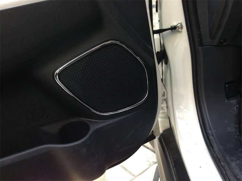 Хром накладки в салон Mitsubishi ASX, фото 9