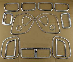 Хром накладки в салон Mitsubishi ASX