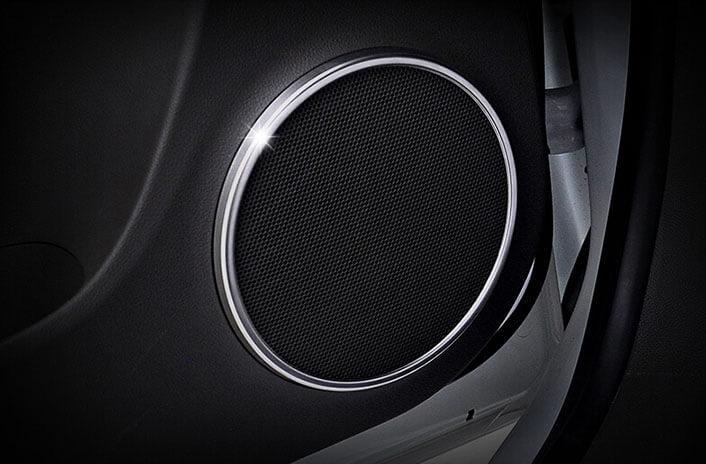 Хром накладки на динамики Chevrolet Cruze, фото 2