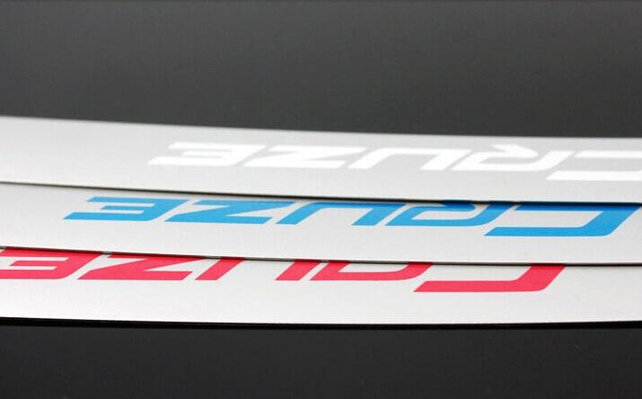 Хром накладка на бардачок Chevrolet Cruze, фото 2