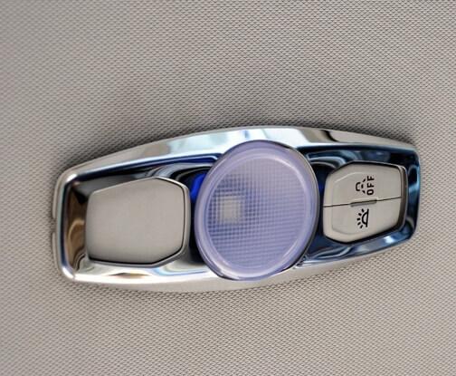 Окантовка плафона освещения Ford Focus 3