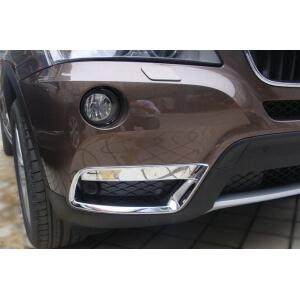 Накладки на передние (нижние) ПТФ BMW X3 (2010-2013)