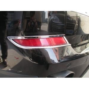 Накладки на задние ПТФ BMW X5 (2010-2013)