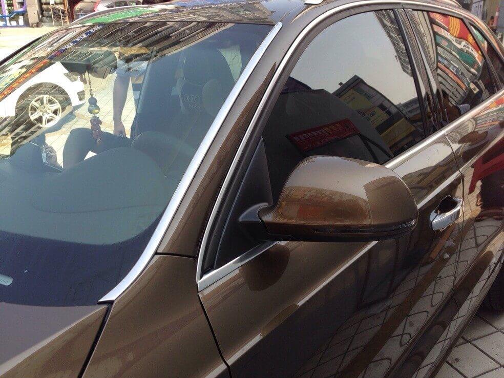 Молдинг лобового стекла Audi Q3 (2011-2013), фото 2