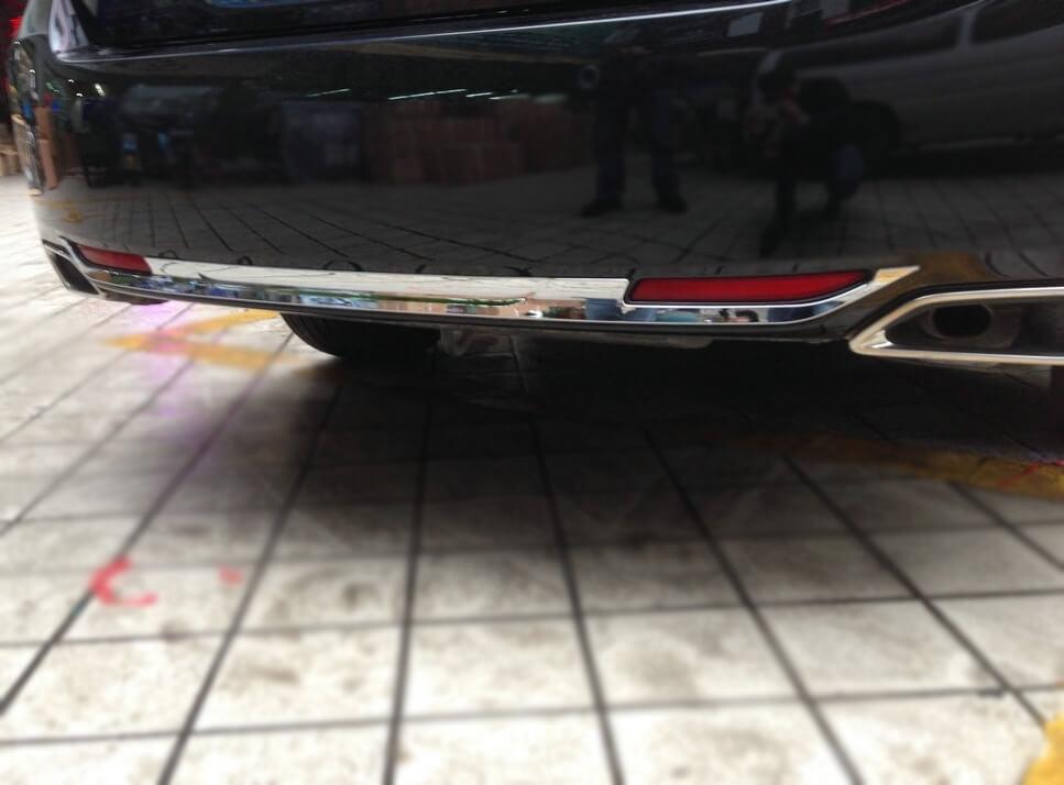 Молдинг на бампер Honda Accord 9 рестайлинг