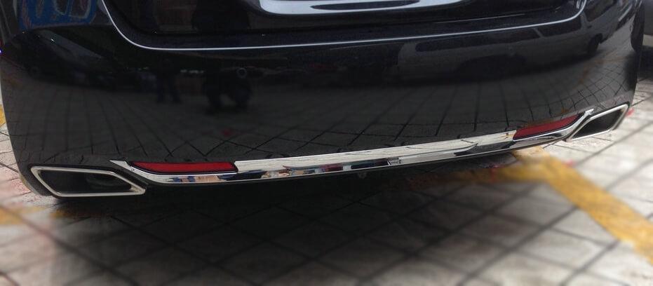 Молдинг на бампер Honda Accord 9 рестайлинг, фото 2