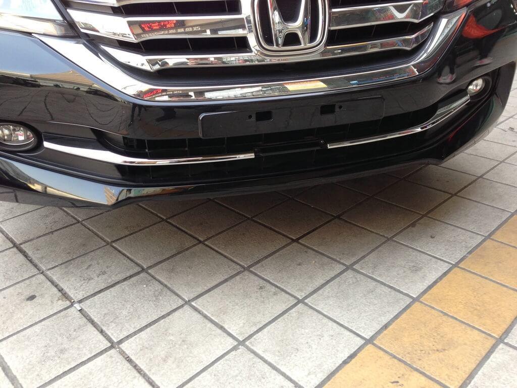 Накладки под решетку радиатора Honda Accord 9 рестайлинг