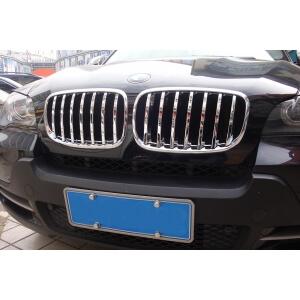 Накладка на решетку радиатора BMW X5 (2010-2013)
