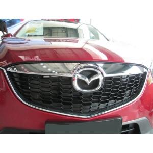 Накладка на решетку радиатора Mazda CX-5 (2011-2015)