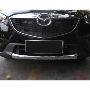 Накладка на передний бампер Mazda CX-5 (2011-2015)