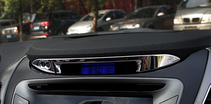 Хром накладки в салон Hyundai Elantra (2011-2015), фото 8