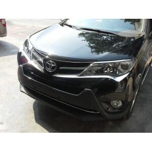 Накладки под фары Toyota Rav4 (2013-2015)