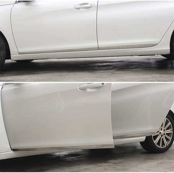 Молдинги на двери Peugeot 508